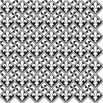 D36.10U Trellis sheet A4 – White Velvet
