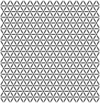 D36.3S Trellis sheet A4 – Shiny platinum