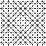 D36.4S Trellis sheet A4 – Shiny platinum