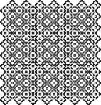 D36.5S Trellis sheet A4 – Shiny platinum