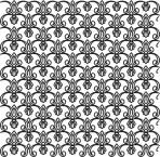D36.6S Trellis sheet A4 – Shiny platinum