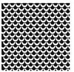 D36.8S Trellis sheet A4 – Shiny platinum
