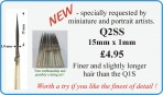 Q2SS No.1 detail brush 15mm x 1mm