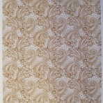 D137G A4 sheet – Paisley – GOLD