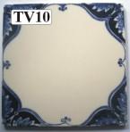 "TV10 Victorian tile – 6"" square"