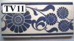 "TV11 Victorian border tile – 6"" x 3"""