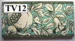 "TV12 Victorian border tile – 6"" x 3"""
