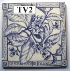 "TV2 Victorian tile – 6"" square"