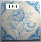 "TV4 Victorian tile – 6"" square"