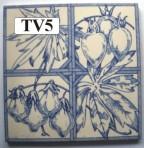 "TV5 Victorian tile – 6"" square"