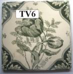 "TV6 Victorian tile – 6"" square"