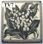 "TV7 Victorian tile – 6"" square"