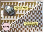 D152G A5 Gold Triangles