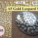 D120.1SG A5 Gold Leopardskin