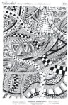 D124 Jilldoodles  A4 decal sheet black
