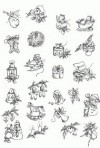 D90.6 Soft line drawings (A4) – little Christmas ideas