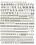 D10.1BL Letters 8mm – black (A5)