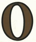 D29.1-0 No. 0 – 42mm – sepia/black outline