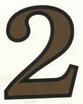 D29.1-2 No. 2 42mm – sepia/black outline
