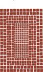 D57.109A Mosaic sheet A4 – Conker brown