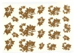D62G 21 ivy leaf sprays (A5) – bright gold