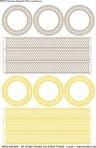 """D99G 2"""" Cloisonne box x 3 sets – paste + gold"""