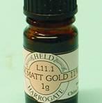 L11 Silk matt gold