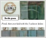 L38 Bottle green
