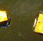 MT15 Dichroic glass – copper/gold (clear) 2g