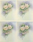 PH215 Pink dbl roses/violets – A4