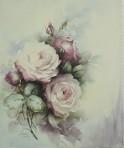 SA100 Kimberly dark pink roses