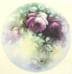 """SA70 Deep red roses 10"""" (L)"""