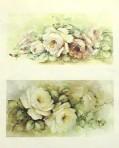 SA81 Pink roses & yellow roses