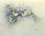 SA83 Pink violets