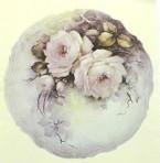 "SA90 Pale pink roses 9.25"" (L)"
